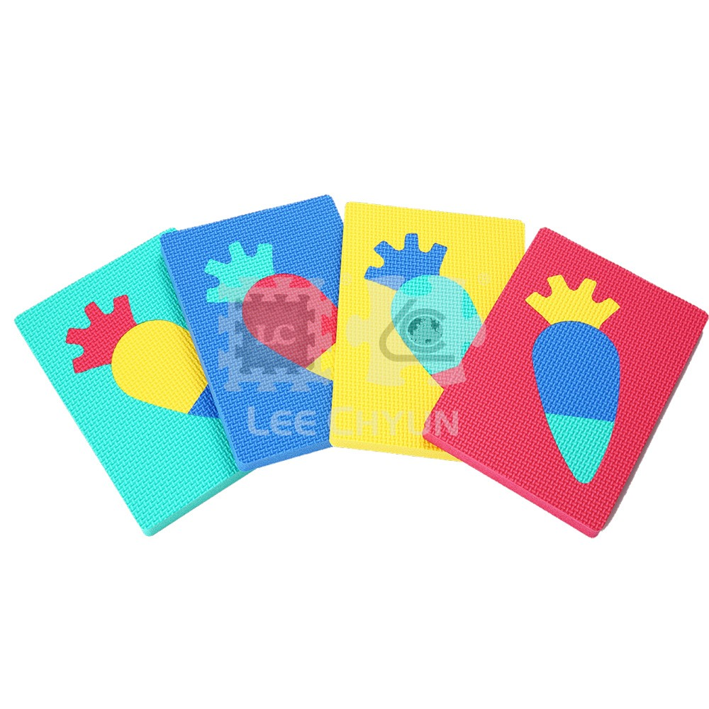 4 PCS CARRY-ON PUZZLES (VEGETABLES)