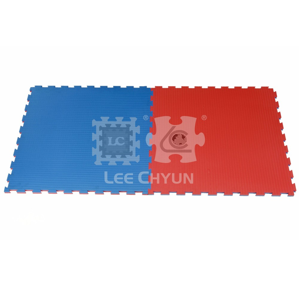 PLAIN TWO-TONE COLOR EXERCISE MAT 25MM