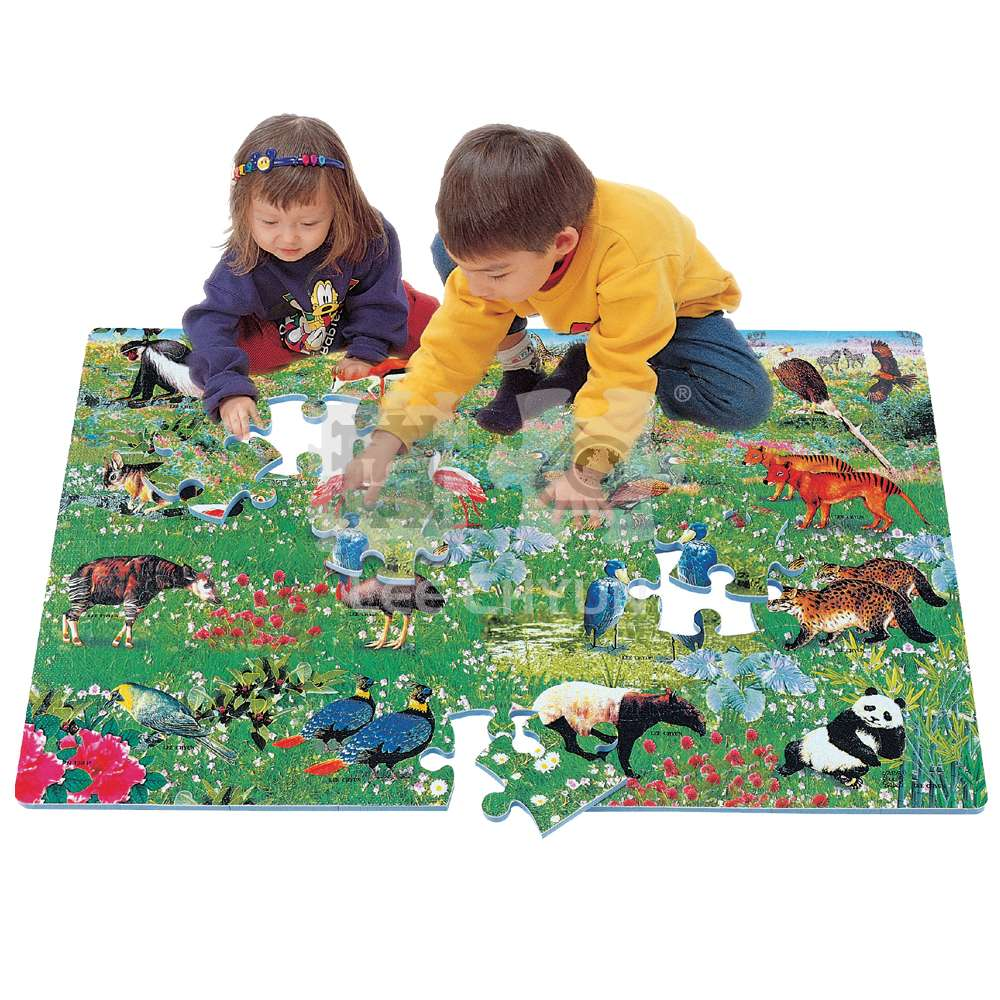 54 PCS CONSERVATION ANIMALS PUZZLE