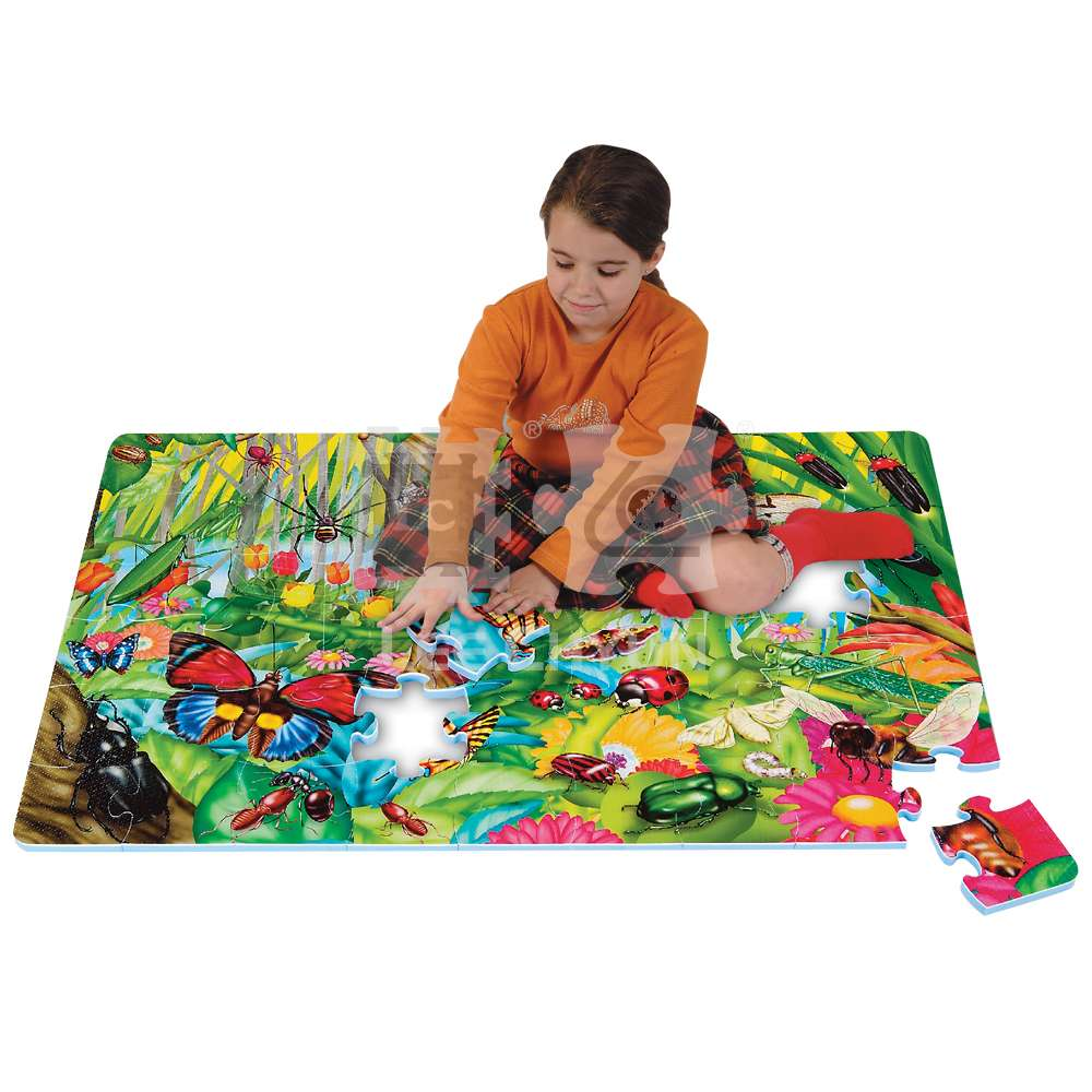54 PCS INSECT WORLD PUZZLE