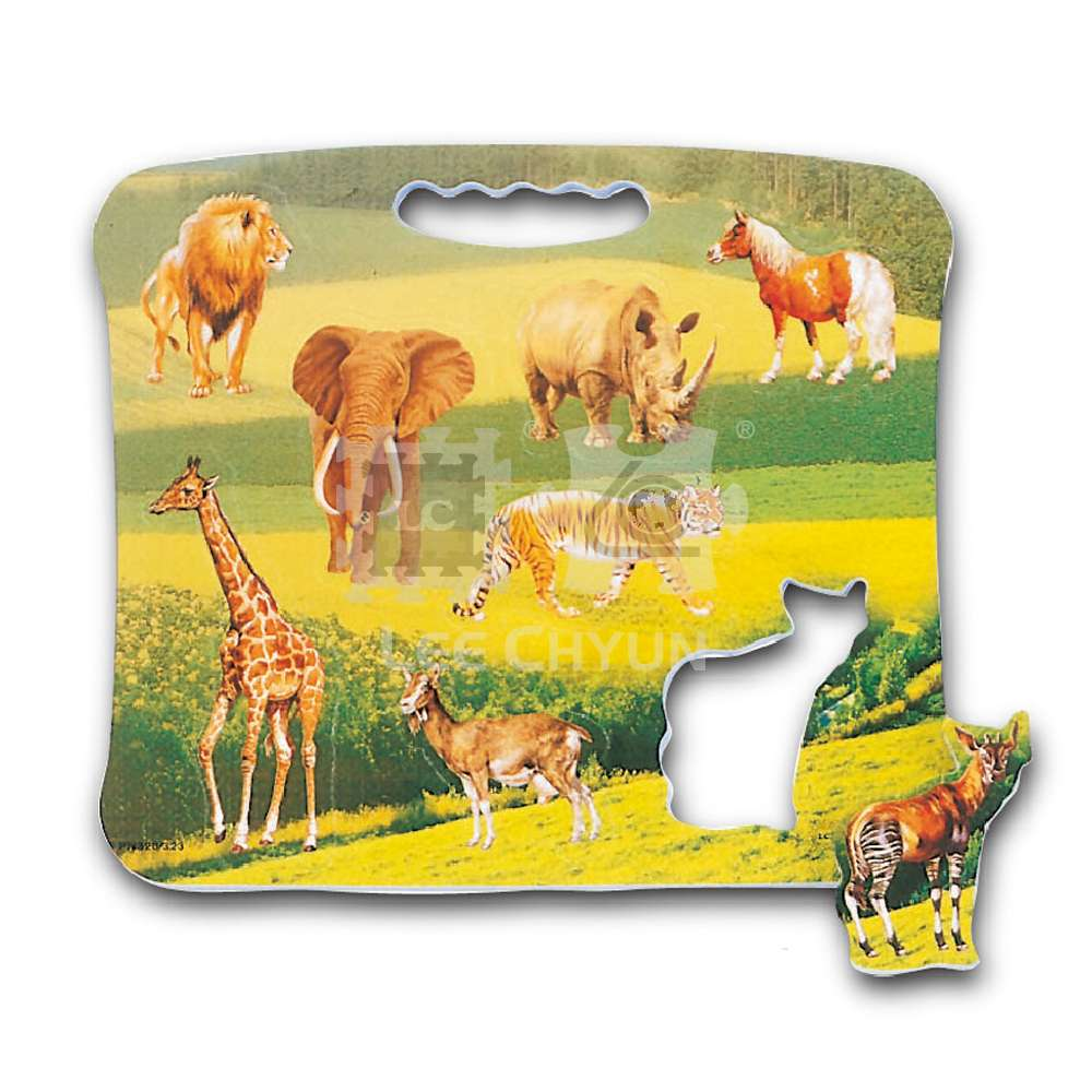 ANIMAL PORTABLE POP-OUT PUZZLE