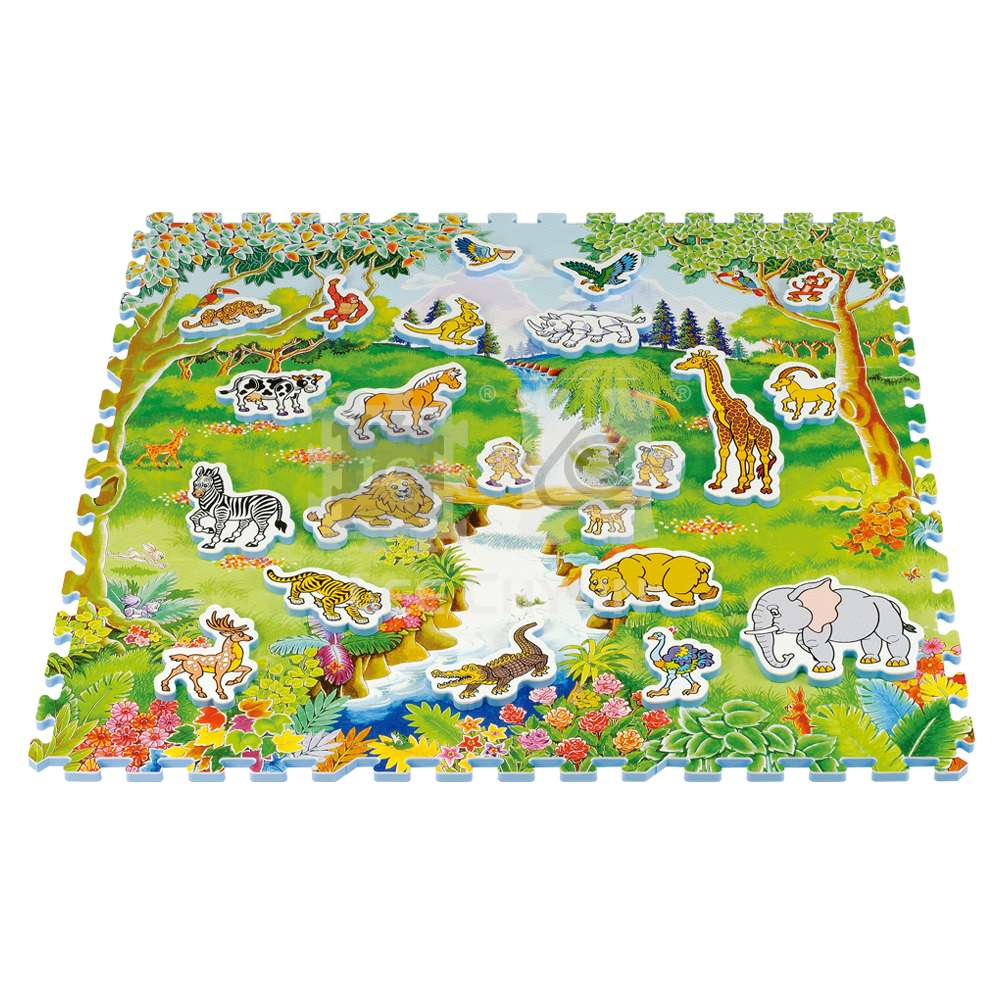 31 PCS ADVENTURE LAND PUZZLE